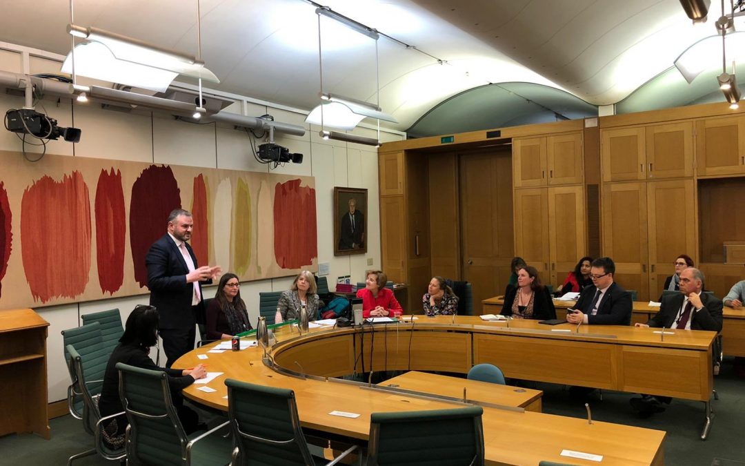 Minister Stephenson and Alice Albright, CEO of GPE, join APPG for event celebrating International Day for Education